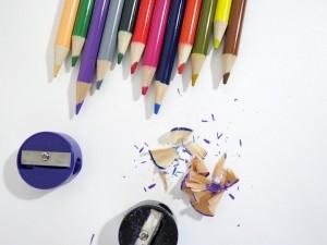 pencils shavings